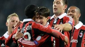 L'éternel espoir du dernier grand Milan, aux oubliettes. AFP