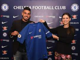 Chelsea have announced the arrival of Emerson Palmieri from Roma. ChelseaFC