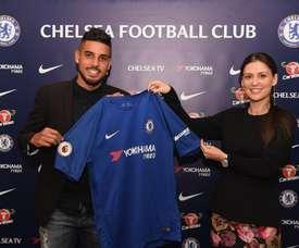 Emerson Palmieri rejoint officiellement Chelsea. ChelseaFC