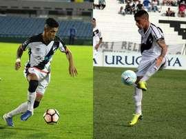 Dos jugadores que quieren seguir creciendo en Europa. Danubio