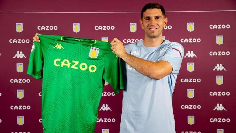 Emiliano Martínez deja el Arsenal y firma con el Aston Villa. AVFC