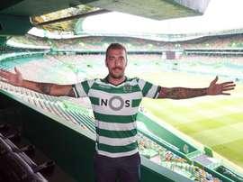 Viviano restera au Sporting Portugal. Twitter/SCP