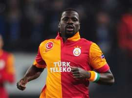 Eboue returned to England for more tests. Twitter