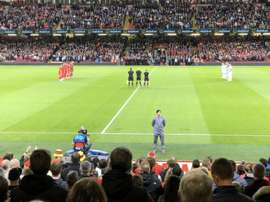 Homenaje en Cardiff a las víctimas de Mallorca e Indonesia. SEFútbol