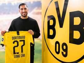 Officiel : Emre Can va rester à Dortmund. Twitter/BVB