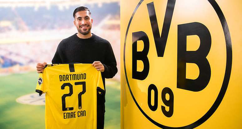 Can has signed for Dortmund. Twitter/BVB