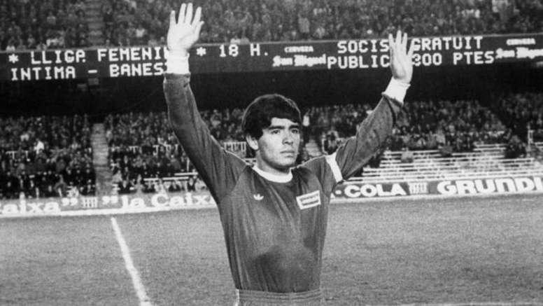Argentinos Juniors guardará y exhibirá las ofrendas a Maradona. EFE