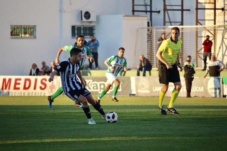 El Cartagena perdió ante el Atlético Sanluqueño. FCCartagena