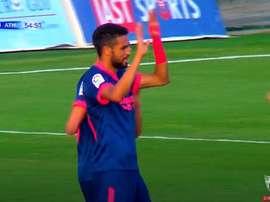 En-Nesyri marcó el gol de la victoria. Captura/SevillaFCTV