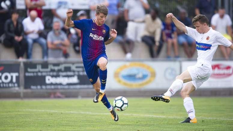 El Barça empieza con goleada. FCBmasia