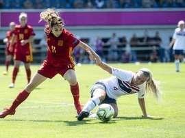 Noruega superó a España. Twitter/UEFAWomensEURO
