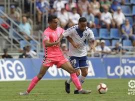 El Tenerife jugará un amistoso intersemanal. Twitter/LaLiga