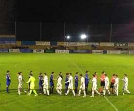 El Amorebieta se llevó el partido por 4-1 ante Socuéllamos. SDAmorebieta