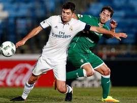 El Real Madrid Castilla y el Gernika firmaron tablas. RealMadridCF