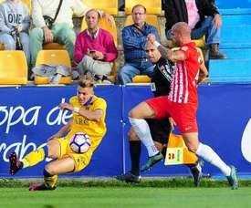 El Almería se reencontró con la victoria en casa. ADAlcorcón