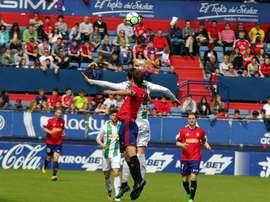 Reparto de puntos entre Osasuna y Córdoba. CórdobaCF