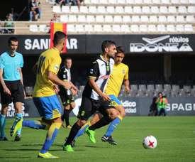 Reparto de puntos entre el Cartagena y Las Palmas Atlético, en el Cartagonova. FCCartagena