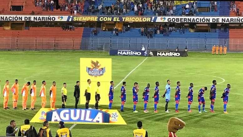 Envigado se impuso a Deportivo Pasto por la mínima. DeporPasto
