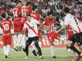El Almería se quedó con los tres puntos en casa. LaLiga
