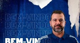 O Cruzeiro confirmou a chegada de Enderson Moreira. Twitter/Cruzeiro