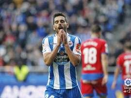 El Deportivo marcó sus dos tantos en la primera mitad. LaLiga