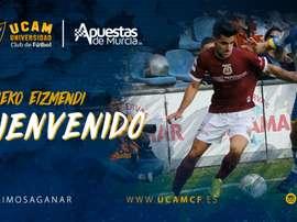 El ex del Albacete se incorporará a la disciplina del conjunto murciano. UCAMMurcia