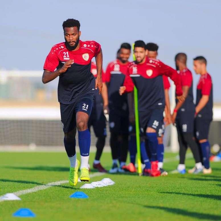 Omán quiere seguir manteniendo su racha. Twitter/OmanFA