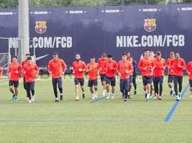 Ilie Sánchez y Jordi Quintillà militaron en el filial del Barça. FCBarcelona