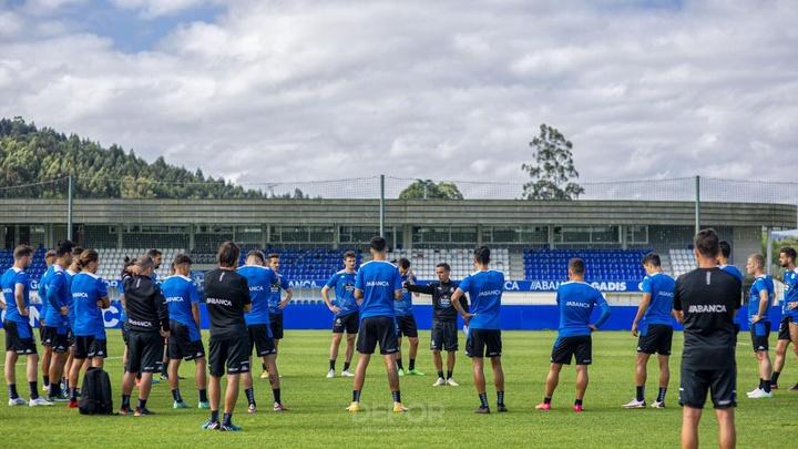 Doncel se mostró entusiasmado con su llegada al Deportivo. Twitter/RCDeportivo