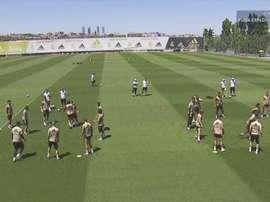 Hazard et Varane absents au dernier entraînement avant l'Athletic. Capture/RMTV