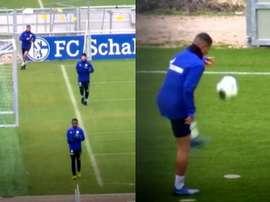 Schalke 04 reprend l'entraînement.  Capturas/Omnisport