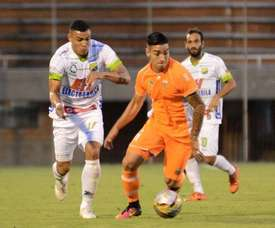 Envigado consiguió un punto en casa ante Rionegro. EnvigadoFC