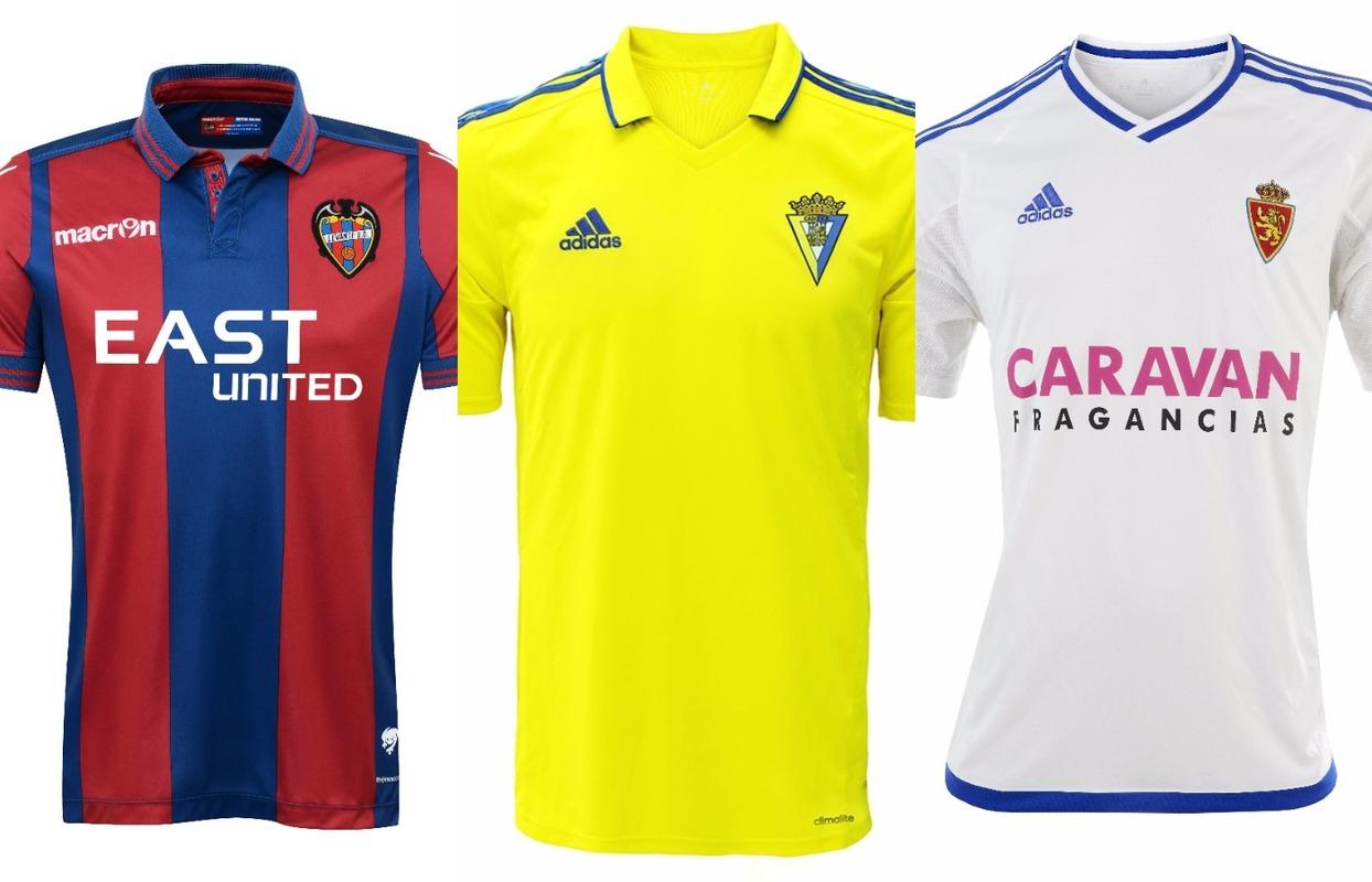 Así son las camisetas de los equipos de Segunda División para la temporada  2016-17 - BeSoccer 04b0c2a127036