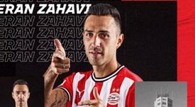 Zahavi has moved to PSV. Screenshot/PSV