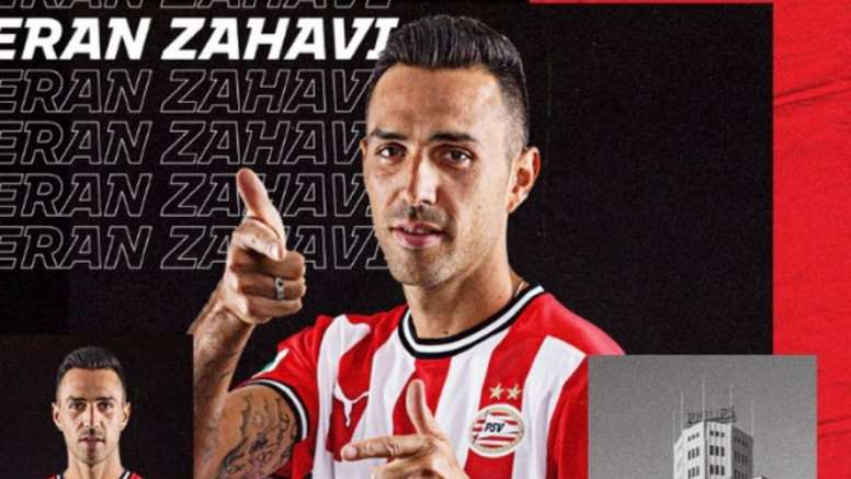 Zahavi has moved to PSV. Screenshot/PSV