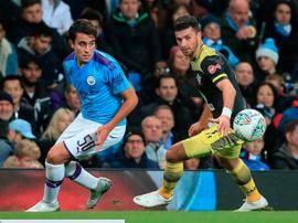 Manchester City veut prolonger Eric Garcia. AFP