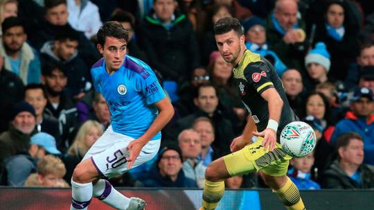 El Barça ofrecerá diez millones por Eric García. AFP