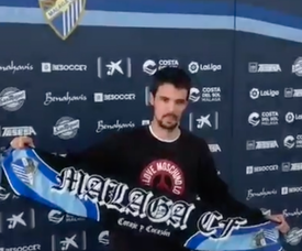 Morán ya está en Málaga. Captura/Málaga Hoy