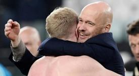 Ten Hag insists: 'Van de Beek will play for Ajax'. EFE
