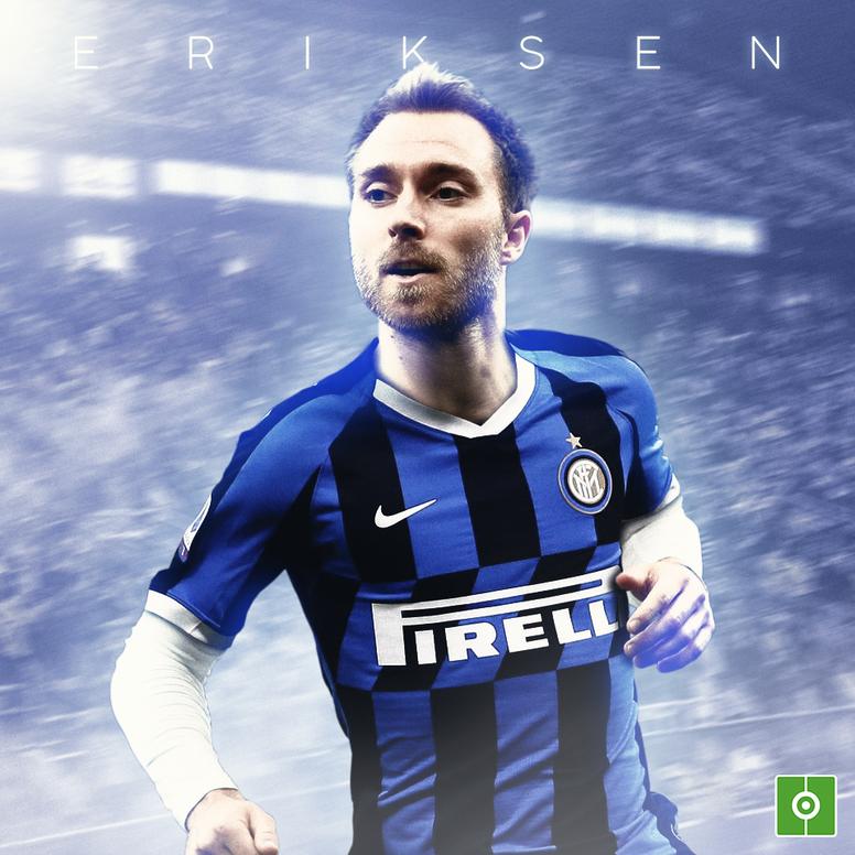 Eriksen officially joins Inter Milan. BeSoccer