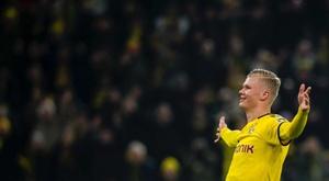 57 minutos para cinco goles. BVB