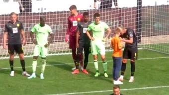 Dortmund s'incline pour le retour d'Erling Haaland. Youtube/AthleticClub
