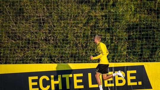 Dortmund va reprendre les entraînements cette semaine. Twitter/BVB