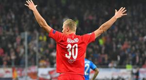 Leipzig, une clause spéciale pour Haaland. AFP