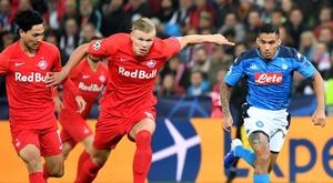 O Bayern não irá atrás de Haaland no momento. AFP
