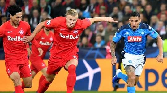 Bayern will not sign Haaland at the moment. AFP