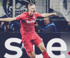 Red Bull et le football : une histoire d'énergie. Twitter/RedBullSalzburg