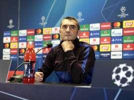 Valverde change de plan.  Twitter/FCBarcelona_es