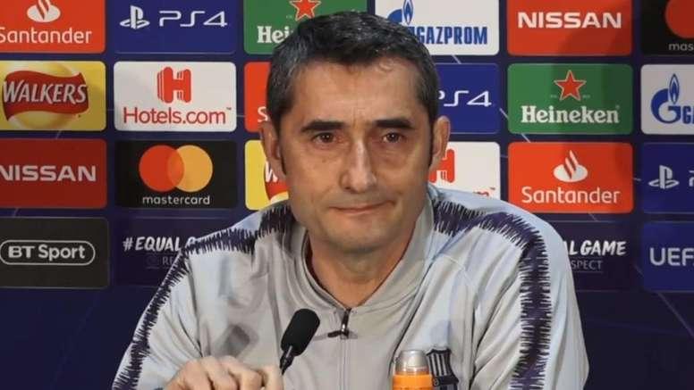 Valverde alertou que Messi poderá descansar frente ao Huesca. Captura