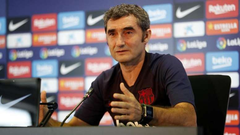 Valverde advirtió sobre el peligro de Los Cármenes. FCBarcelona